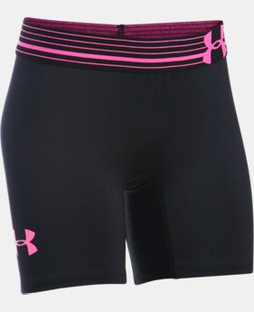 "Girls' UA HeatGear® Armour 5"" Short   $16.99 to $17.99"