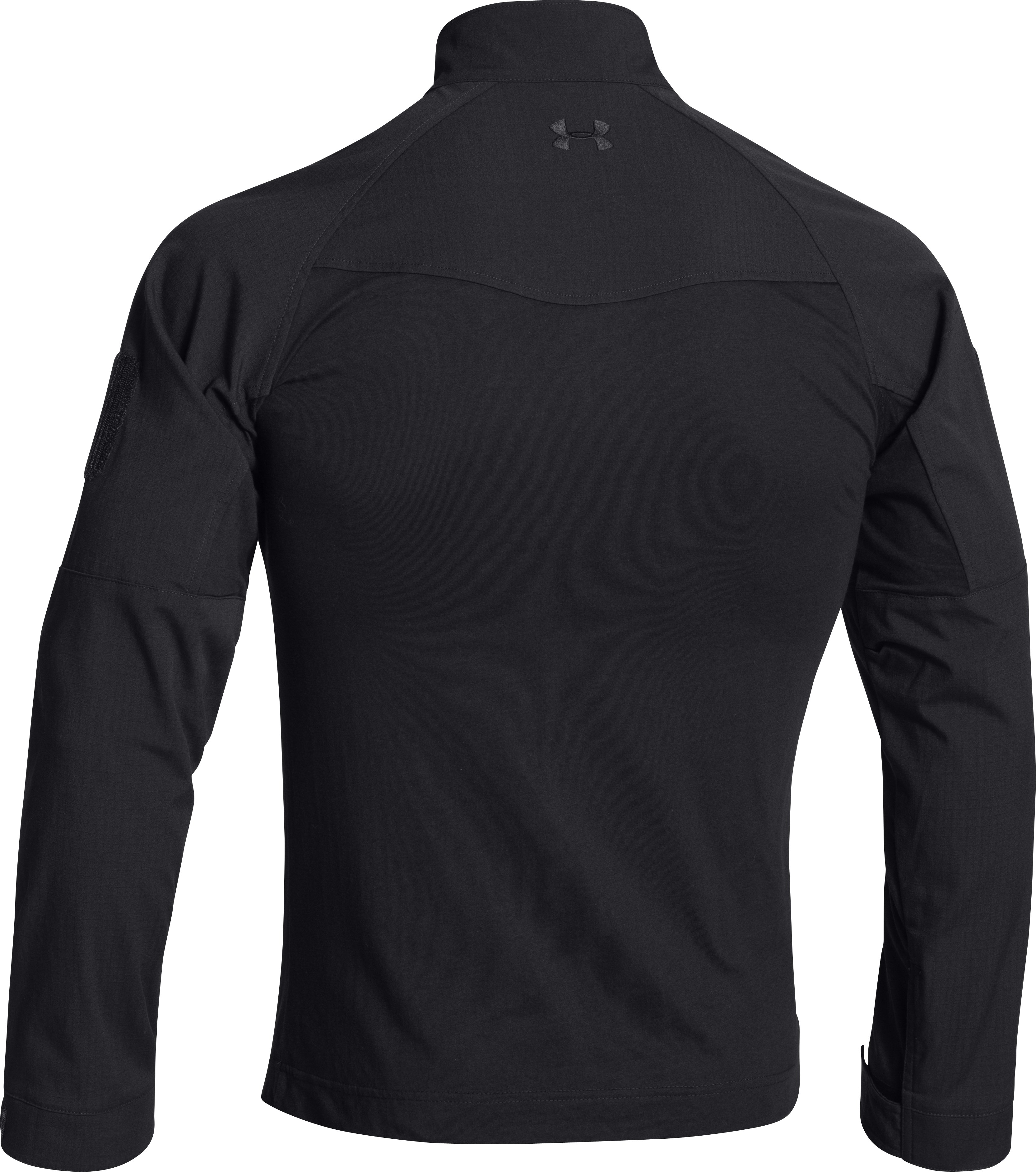 Men's UA Storm Tactical Combat Shirt, Black