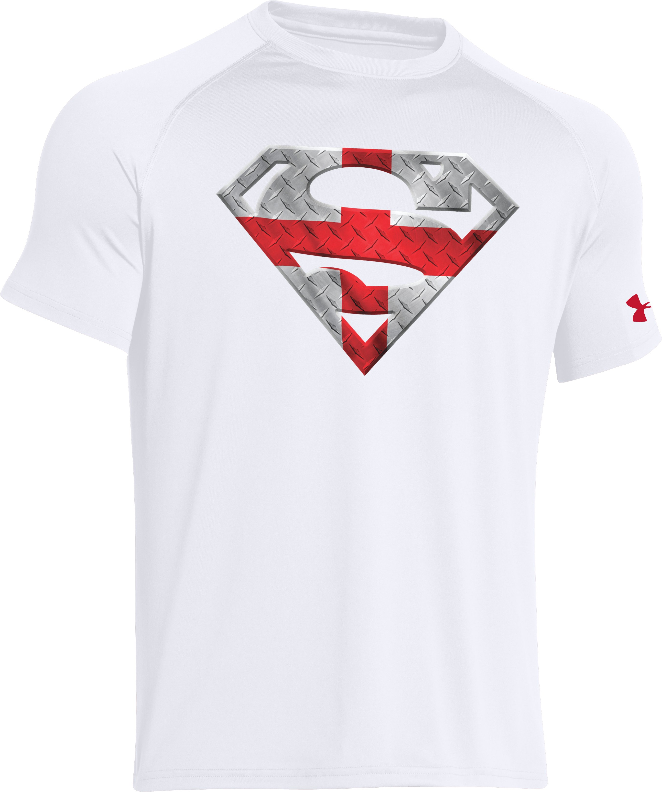 Men's England Under Armour® Alter Ego Superman T-Shirt, White