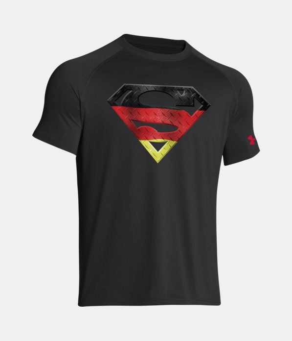 Men S Germany Under Armour Superman T Shirt Under Armour Us