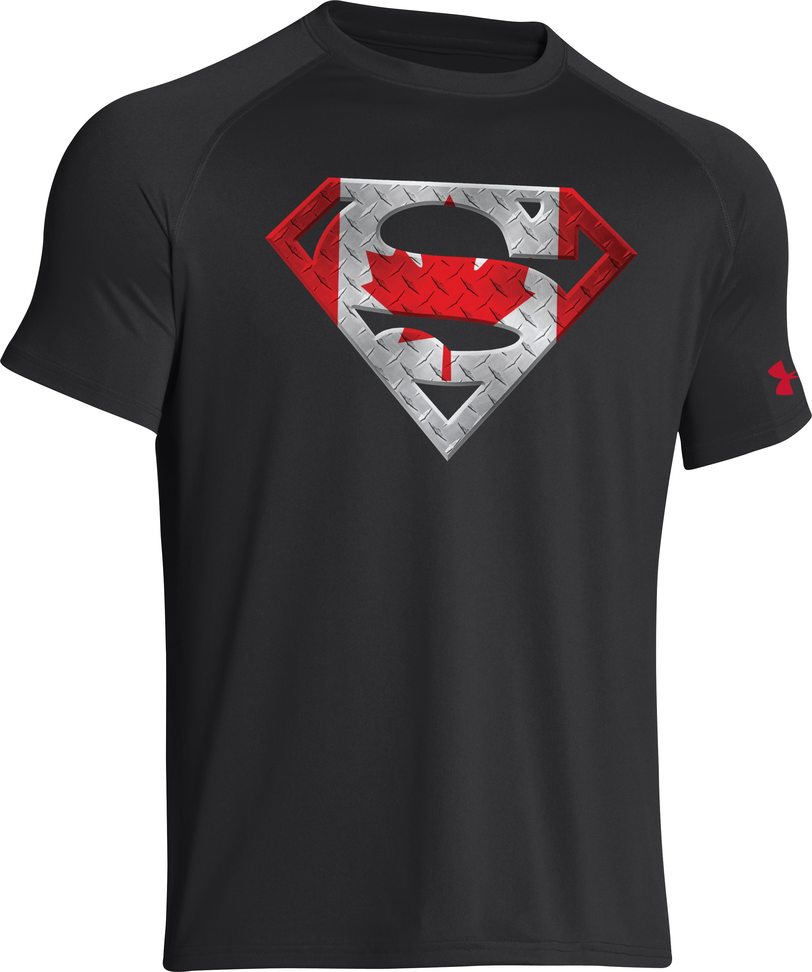 Men's Canada Under Armour® Superman T-Shirt, Black , undefined