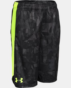 Boys' UA Eliminator Printed Shorts LIMITED TIME: FREE SHIPPING 6 Colors $32.99