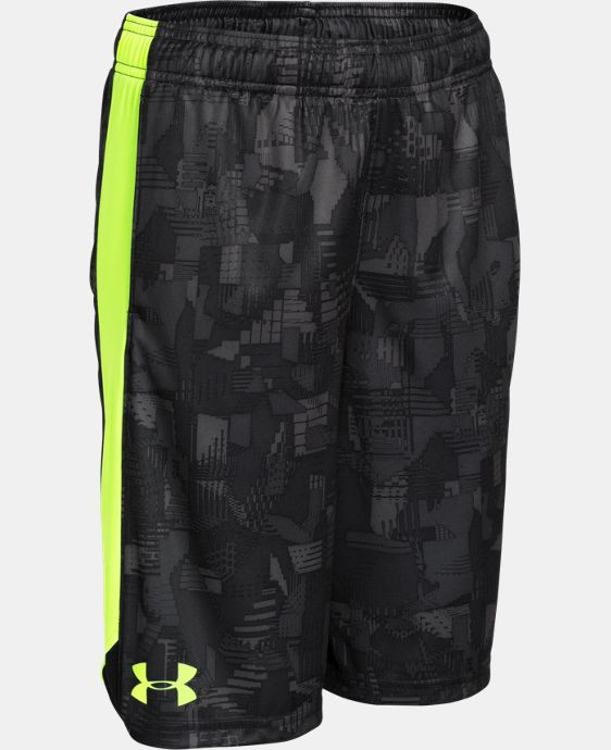 New Arrival  Boys' UA Eliminator Printed Shorts LIMITED TIME: FREE SHIPPING 4 Colors $24.99 to $32.99