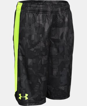 New Arrival  Boys' UA Eliminator Printed Shorts LIMITED TIME: FREE SHIPPING 5 Colors $24.99 to $32.99