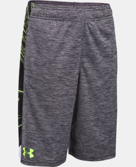 Boys' UA Eliminator Printed Shorts LIMITED TIME: FREE U.S. SHIPPING 5 Colors $15.74 to $20.99