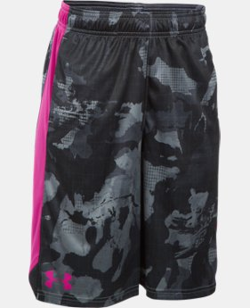 Boys' UA Eliminator Printed Shorts LIMITED TIME: FREE U.S. SHIPPING 1 Color $20.99 to $27.99