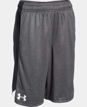 Boys' UA Eliminator Printed Shorts  4 Colors $24.99