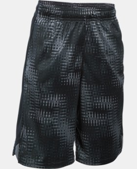 New Arrival Boys' UA Eliminator Printed Shorts  1 Color $27.99