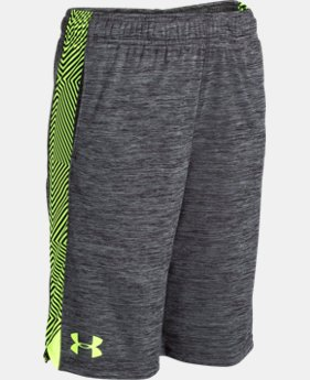Boys' UA Eliminator Printed Shorts LIMITED TIME: FREE SHIPPING 4 Colors $18.74 to $24.99