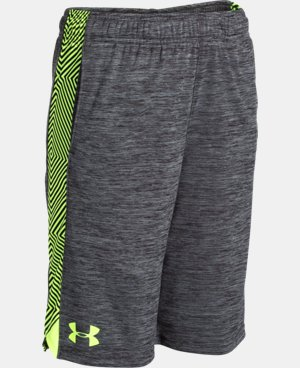 Boys' UA Eliminator Printed Shorts LIMITED TIME: FREE SHIPPING 7 Colors $18.74 to $24.99