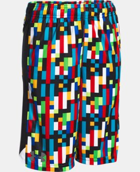 Boys' UA Eliminator Printed Shorts  1 Color $24.99 to $32.99