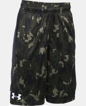 Best Seller Boys' UA Eliminator Printed Shorts LIMITED TIME: FREE SHIPPING 1 Color $20.99 to $27.99