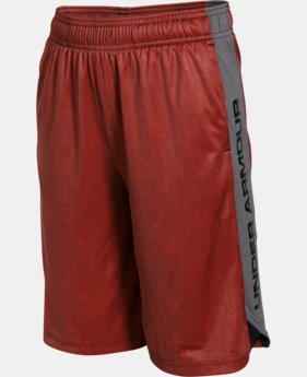 New Arrival  Boys' UA Eliminator Printed Shorts LIMITED TIME: FREE SHIPPING 2 Colors $24.99 to $32.99
