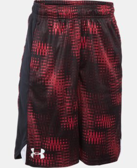 Boys' UA Eliminator Printed Shorts  3 Colors $16.99 to $20.99