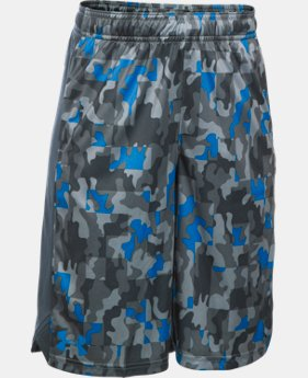 Boys' UA Eliminator Printed Shorts  1 Color $18.74 to $24.99