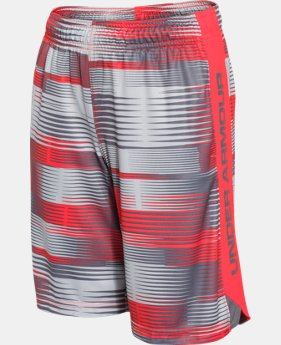 Best Seller Boys' UA Eliminator Printed Shorts LIMITED TIME: FREE SHIPPING 2 Colors $20.99 to $27.99