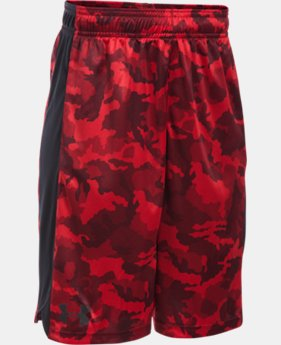 New to Outlet Boys' UA Eliminator Printed Shorts  1 Color $15.74 to $20.99