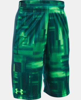 Boys' UA Eliminator Printed Shorts LIMITED TIME: FREE U.S. SHIPPING 3 Colors $15.74 to $20.99