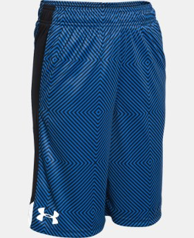 Best Seller Boys' UA Eliminator Printed Shorts LIMITED TIME: FREE SHIPPING  $20.99