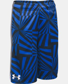 Boys' UA Eliminator Printed Shorts  3 Colors $20.99
