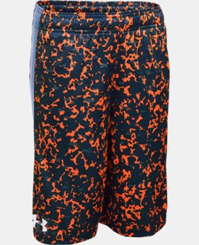Boys' UA Eliminator Printed Shorts  3 Colors $18.74