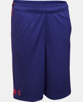 Boys' UA Eliminator Printed Shorts LIMITED TIME: FREE SHIPPING 1 Color $18.74 to $24.99