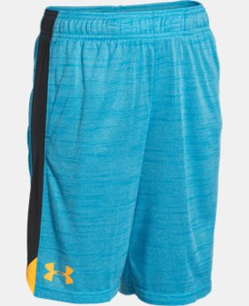 Boys' UA Eliminator Printed Shorts  1 Color $18.74