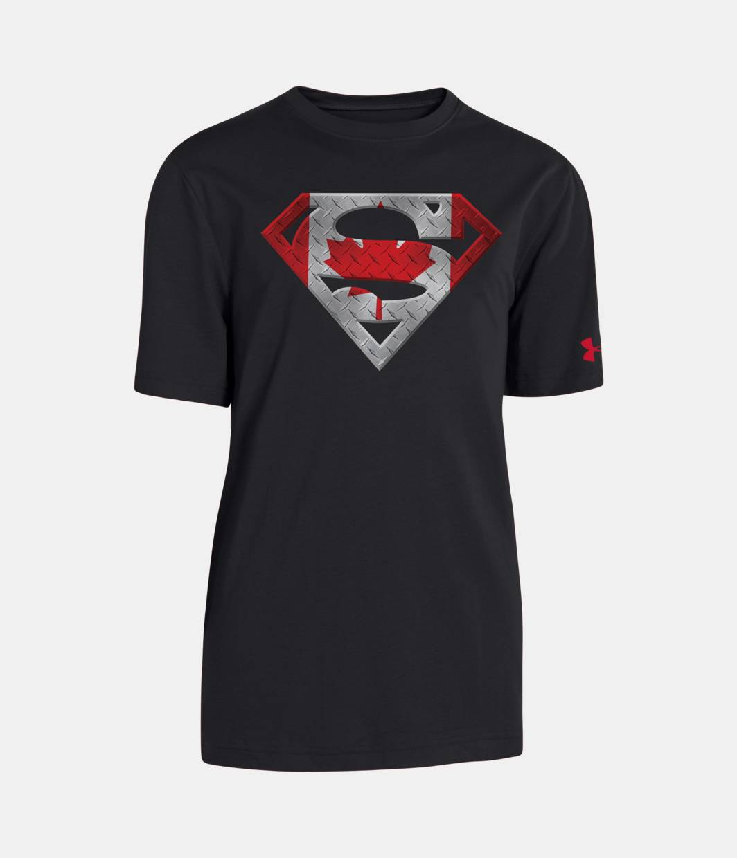 Boys canada under armour alter ego superman t shirt for Under armour shirts canada
