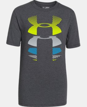 Boys' UA Rising Logo T-Shirt  1 Color $14.99