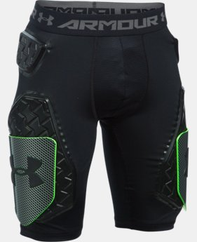 Boys' UA Gameday Armour® D30 5-Pad Football Girdle LIMITED TIME: FREE U.S. SHIPPING 1 Color $56.99
