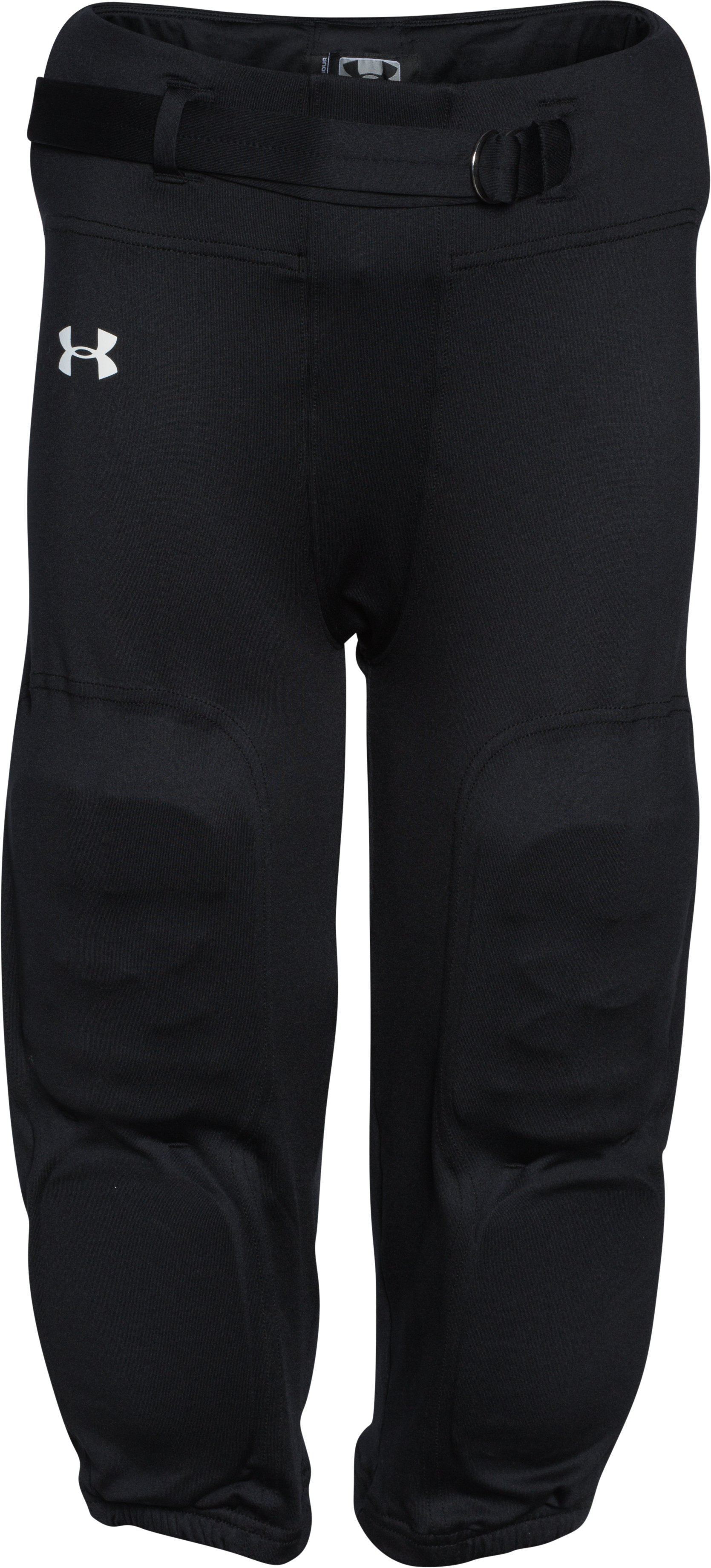 Boys' UA Integrated Football Pants, Black