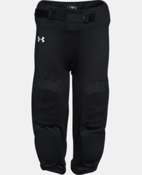 New Arrival  Boys' UA Integrated Football Pants LIMITED TIME: FREE SHIPPING 1 Color $49.99