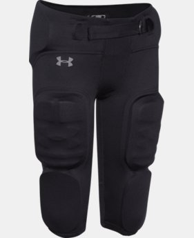Best Seller Boys' UA Vented Integrated Football Pants   $49.99
