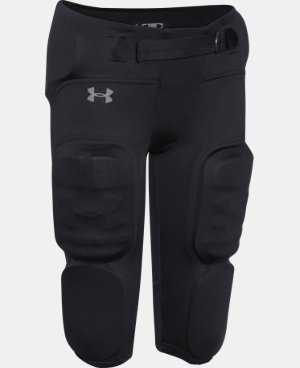 New Arrival  Boys' UA Vented Integrated Football Pants LIMITED TIME: FREE SHIPPING 1 Color $59.99