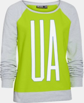 Girls' UA Varsity Crew  1 Color $23.99