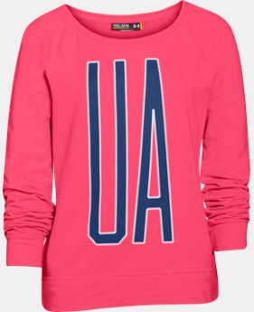 Girls' UA Varsity Crew LIMITED TIME: FREE U.S. SHIPPING 1 Color $23.99