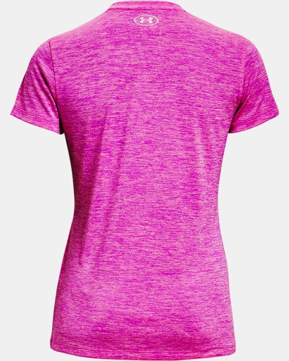 Women's UA Tech™ Twist V-Neck, Pink, pdpMainDesktop image number 5