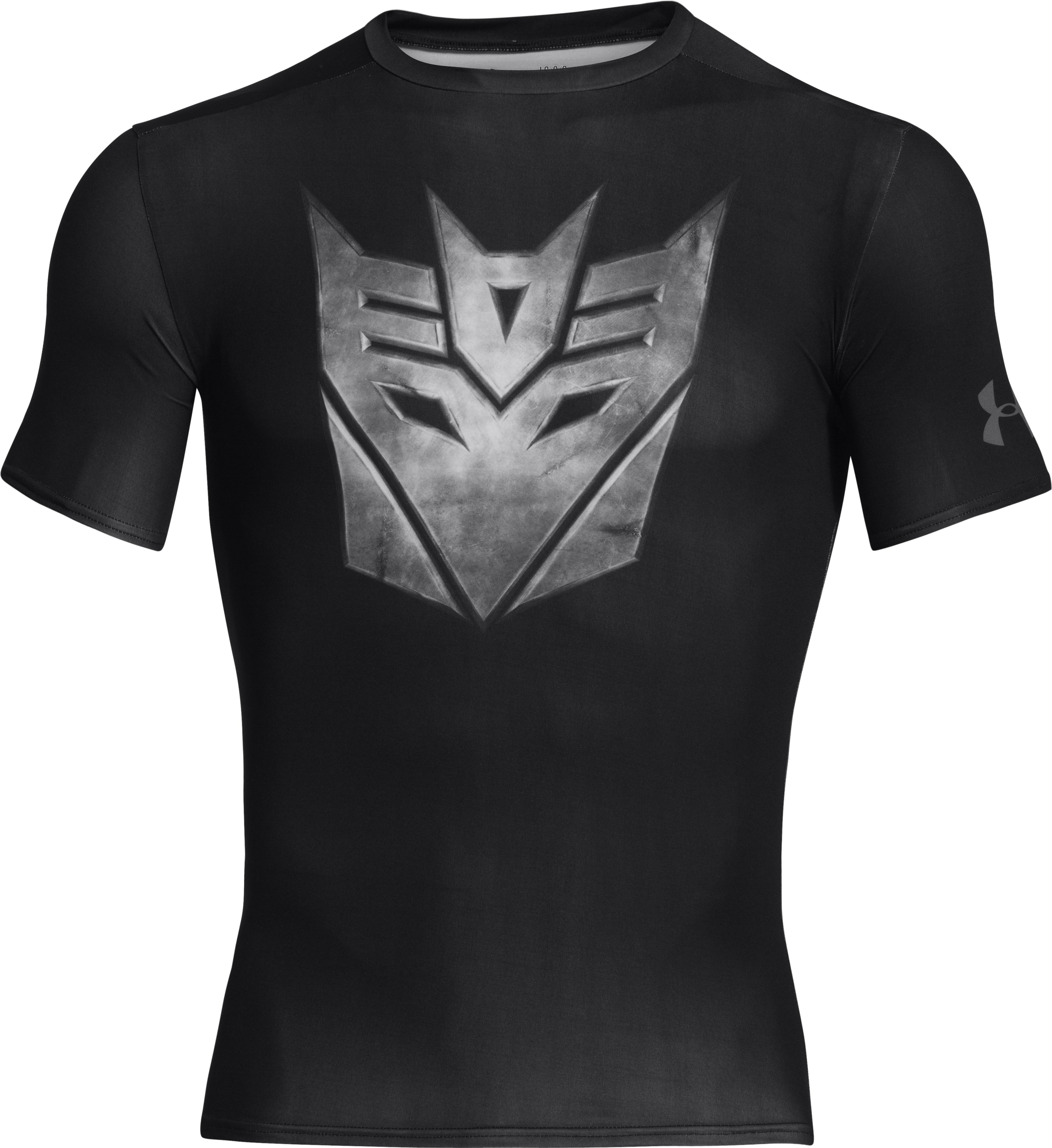 Men's Under Armour® Alter Ego Transformers Decepticons Metal Compression Shirt, Black ,