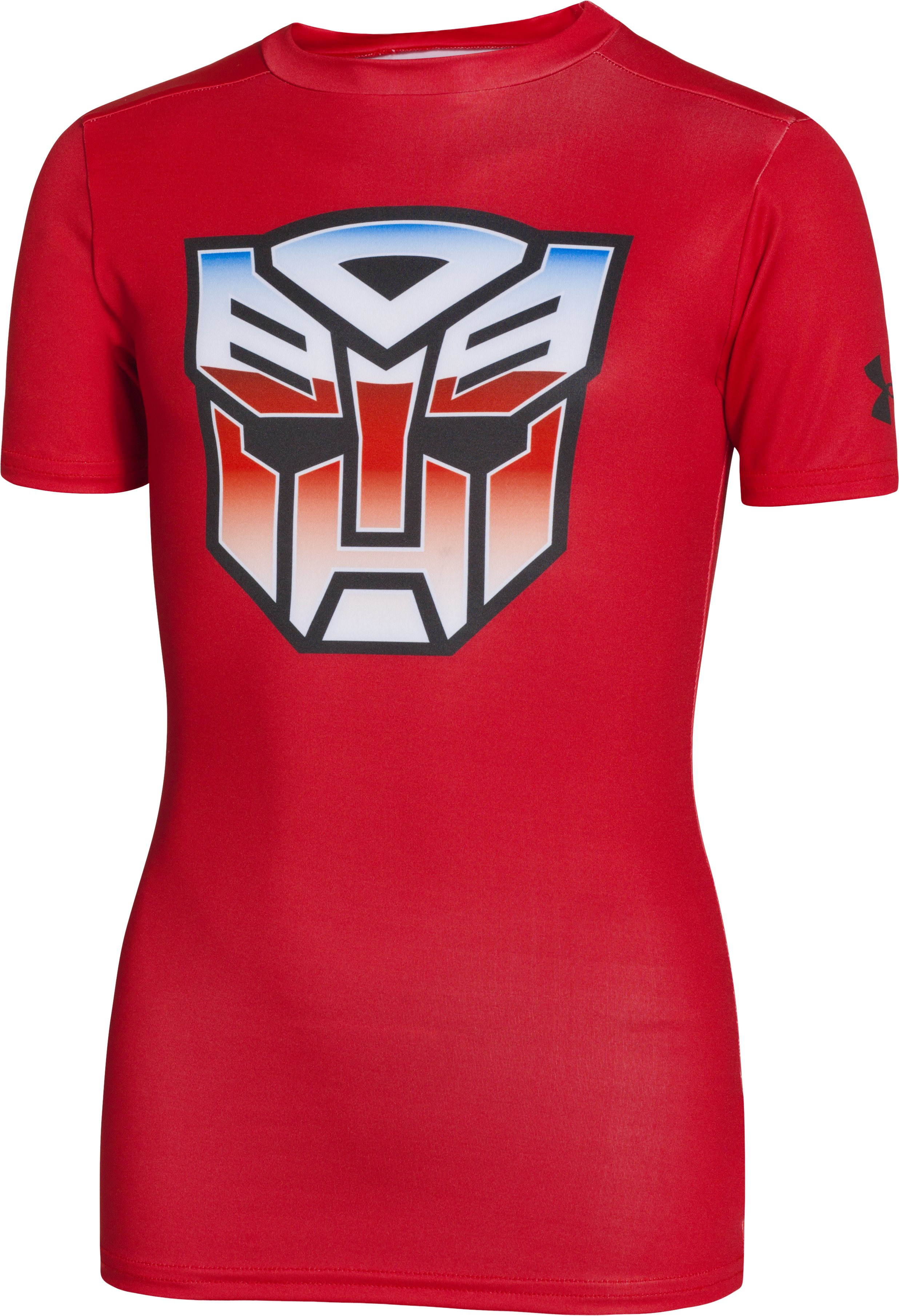 Boys' Under Armour® Alter Ego Transformers Autobots Fitted Shirt, Red