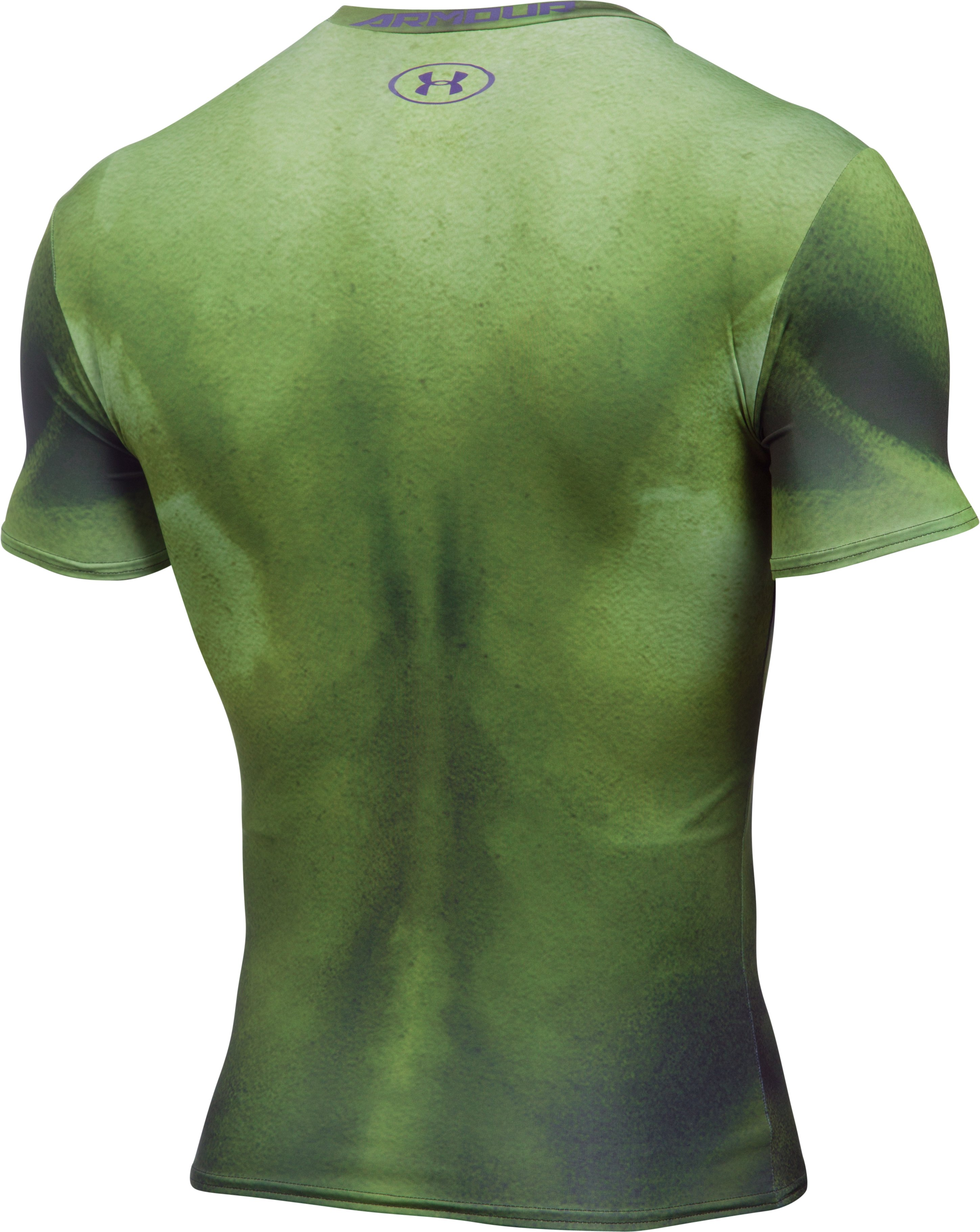 Men's Under Armour® Alter Ego Hulk Compression Shirt, Forest Green
