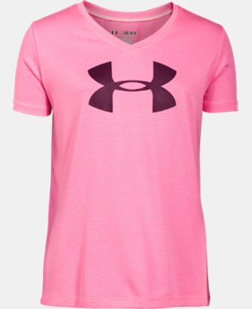 Girls' UA Tech™ Big Logo V-Neck   $14.99 to $18.99