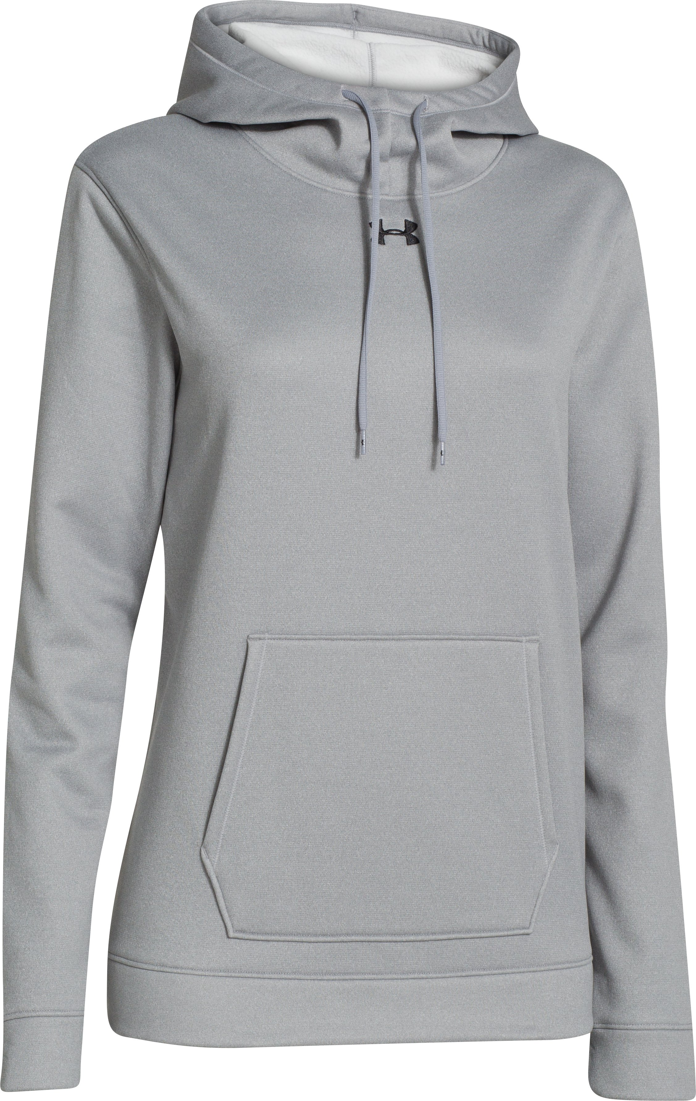 Women's  UA Storm Armour Fleece® Hoodie, True Gray Heather,