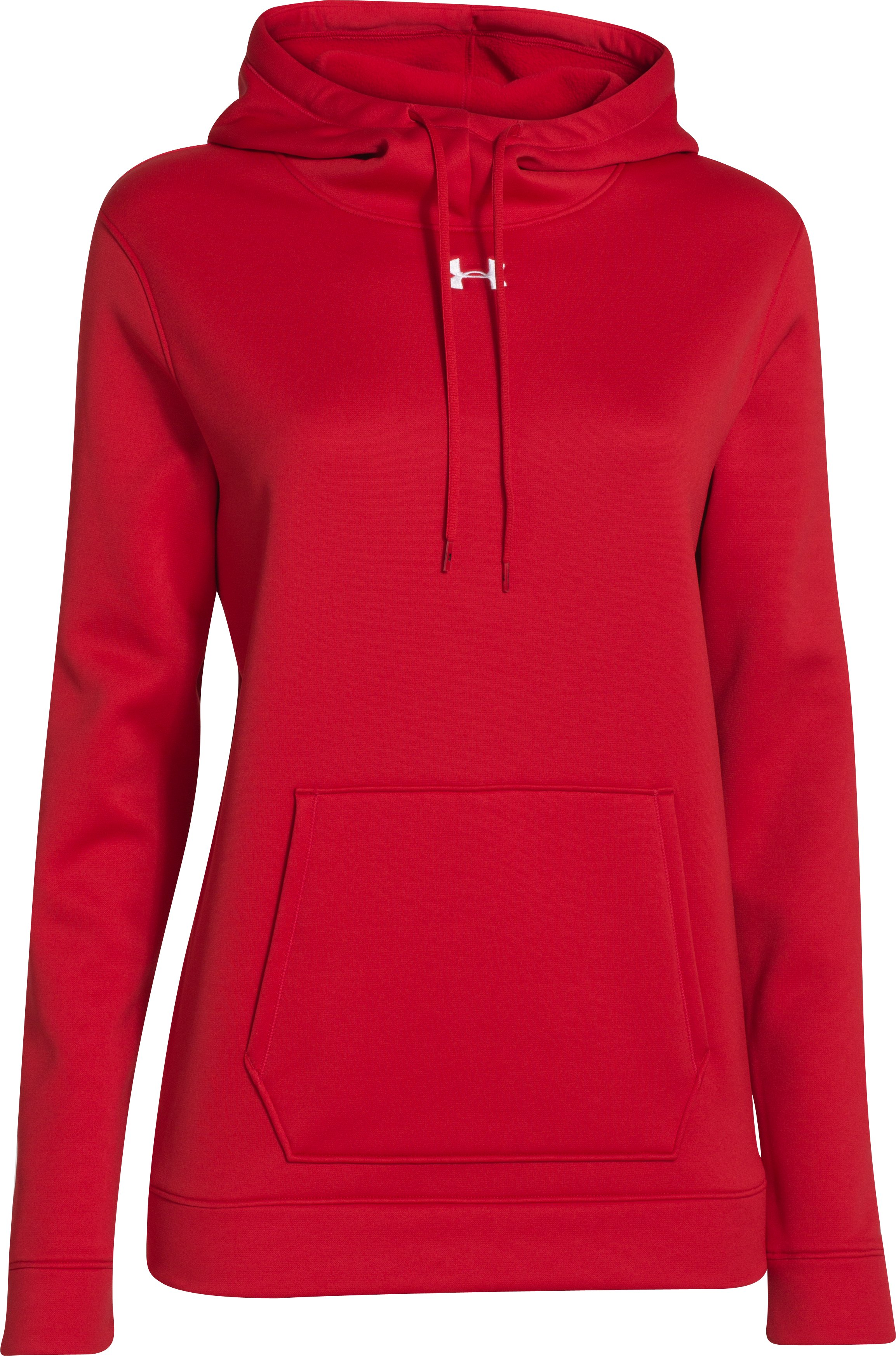 Women's UA Storm Armour® Fleece Hoodie, Red, undefined