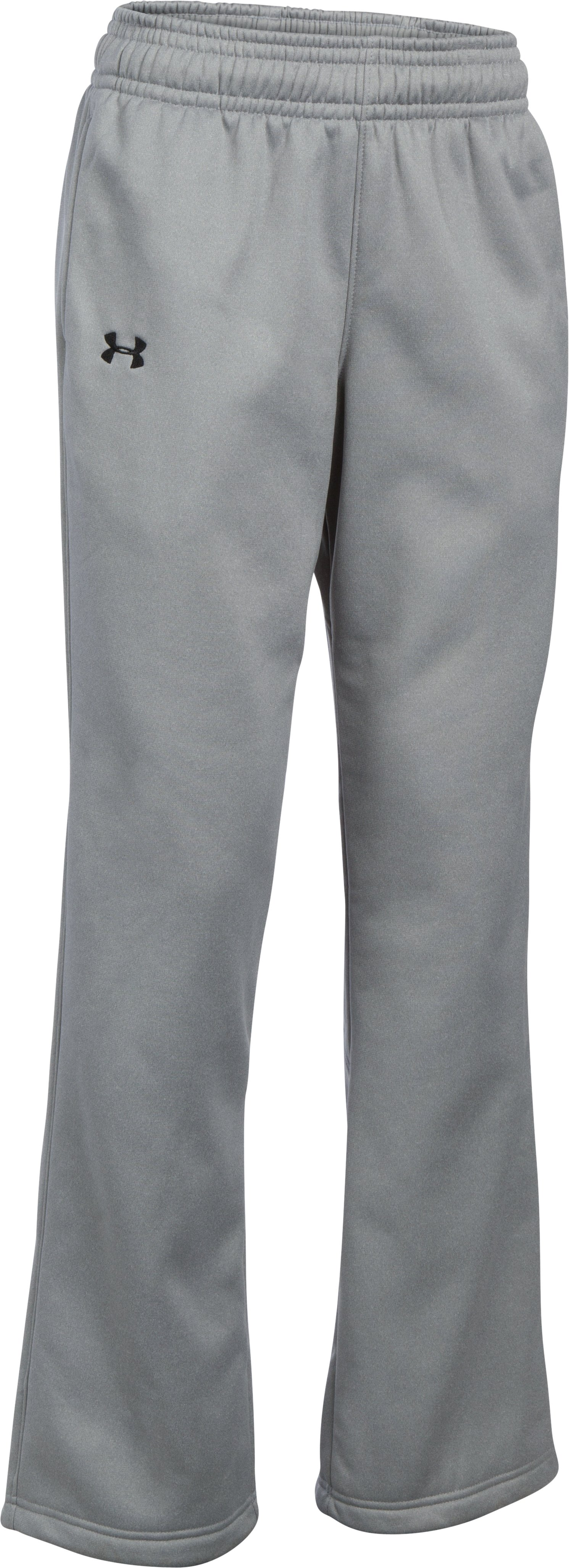 Women's  UA Storm Armour Fleece® Pants, True Gray Heather,