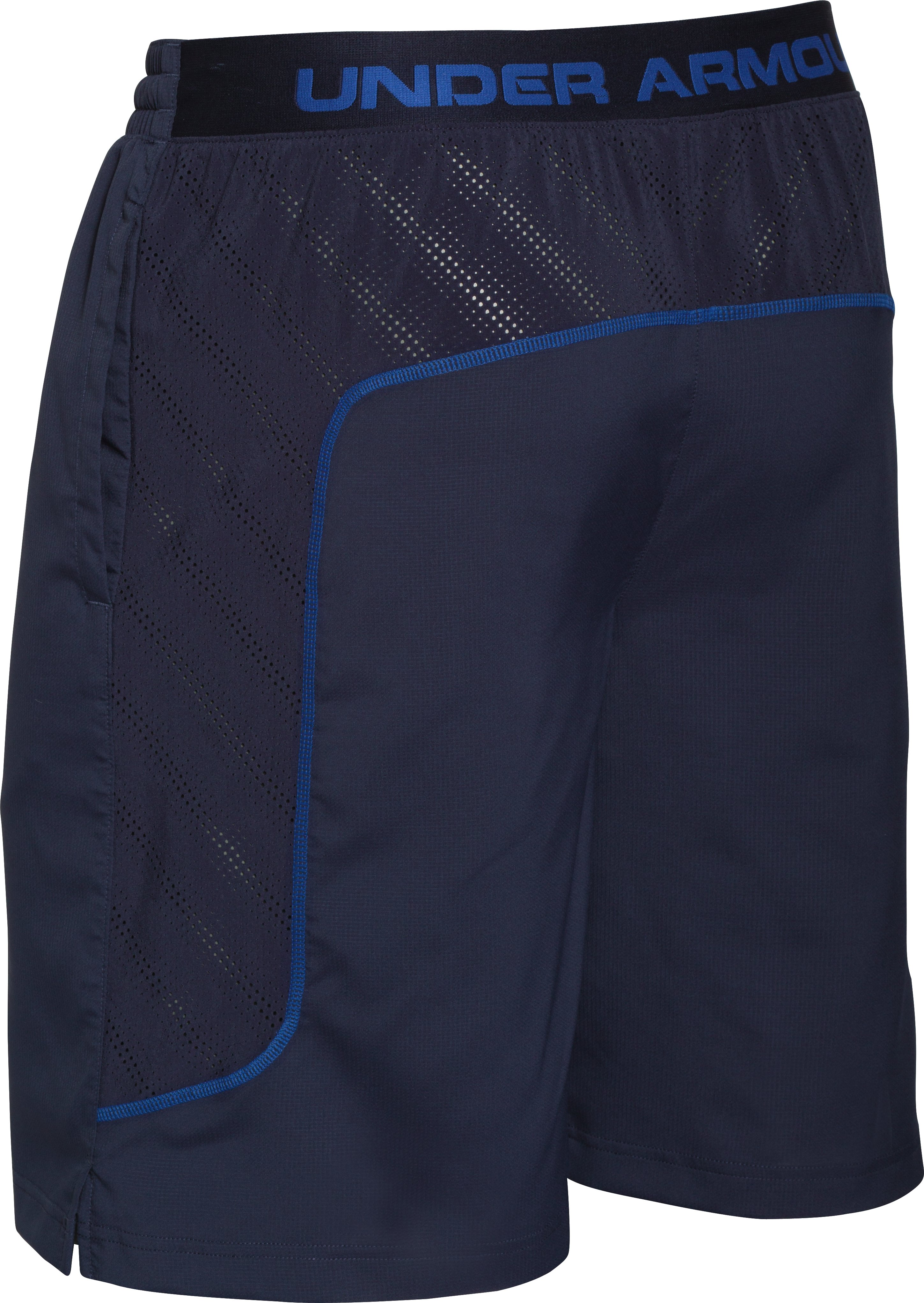 Men's UA HeatGear® ArmourVent™ Guster Shorts, Midnight Navy, undefined