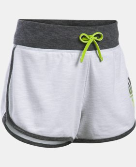 Girls' UA Varsity Shorts  1 Color $18.99