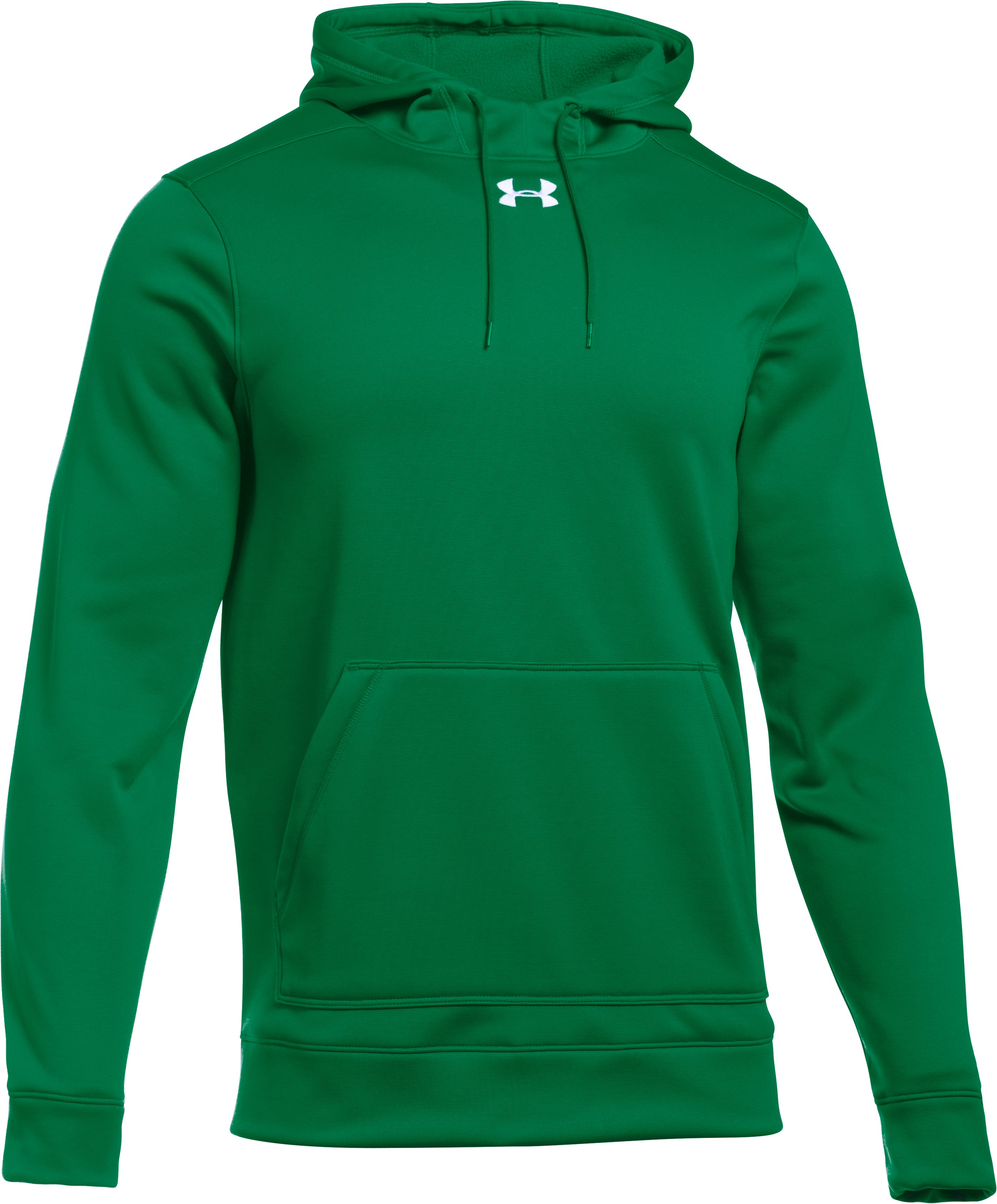 Men's UA Storm Armour® Fleece Team Hoodie, Team Kelly Green