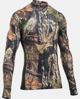 New Arrival  Men's UA ColdGear® Armour Scent Control Mock  2 Colors $84.99