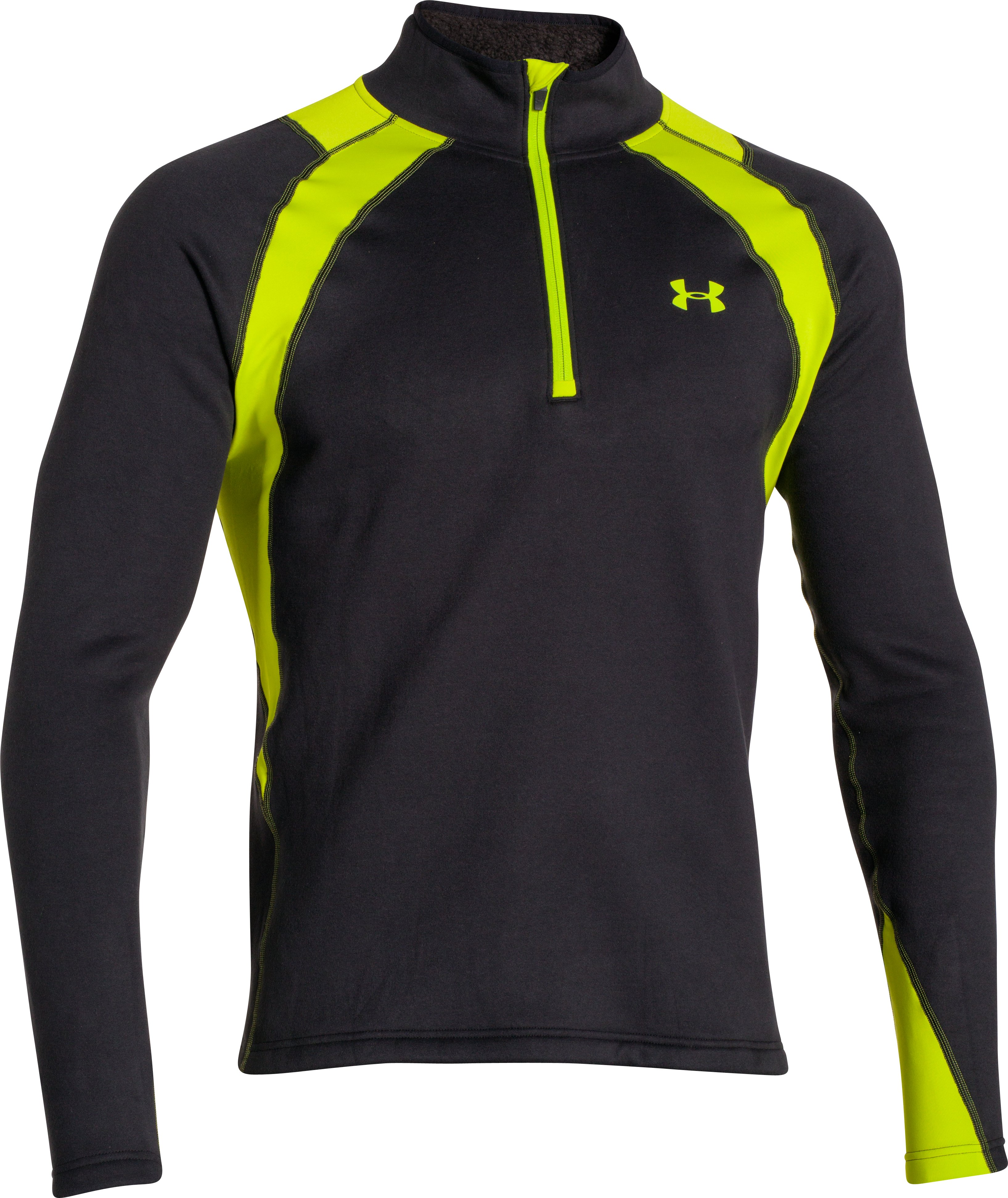 Men's UA Base™ Scent Control Extreme Long Sleeve, Black
