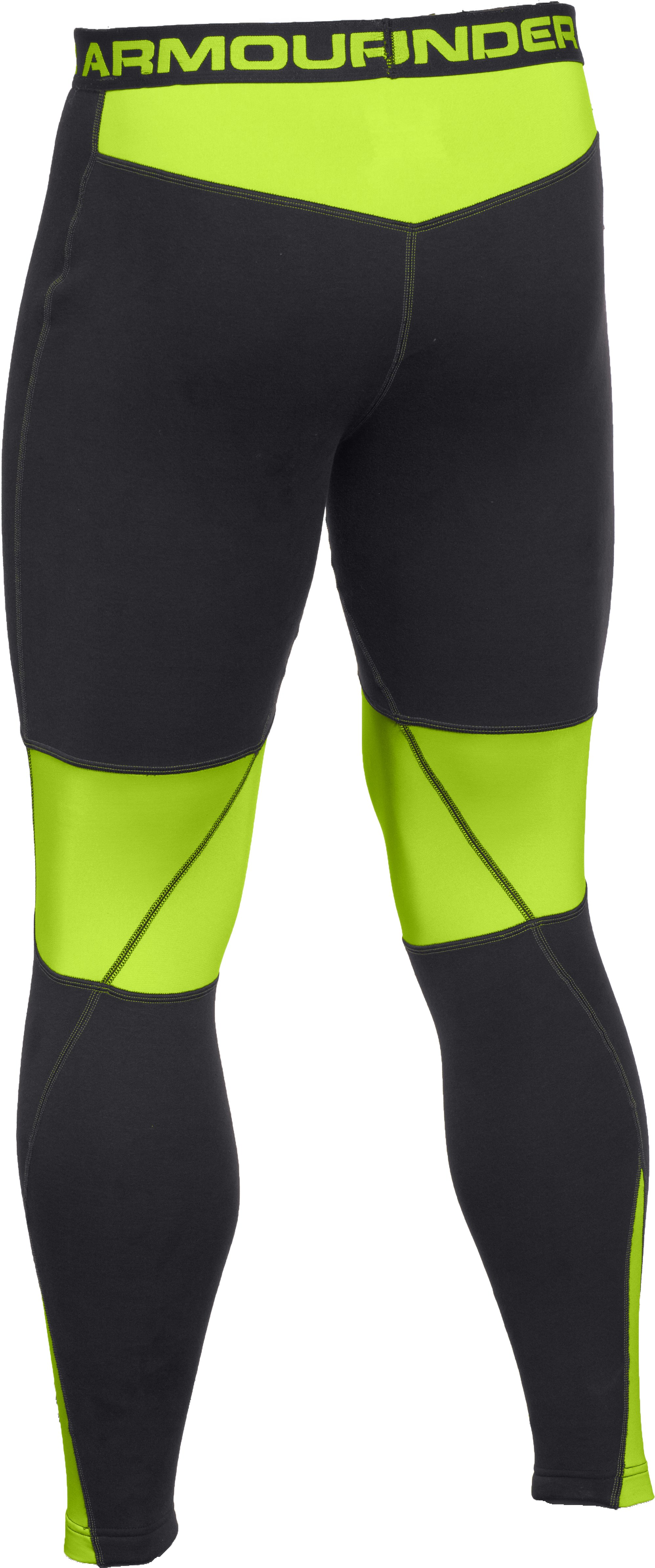 Men's UA Base™ Scent Control Extreme Leggings, Black , undefined